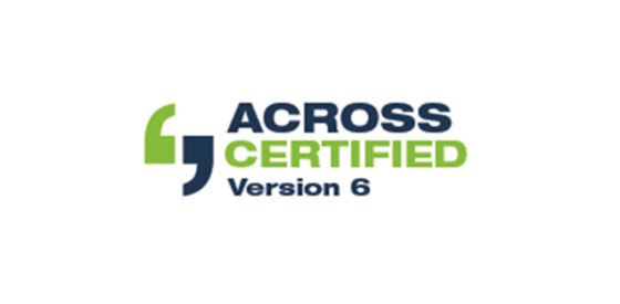 Across certification logo