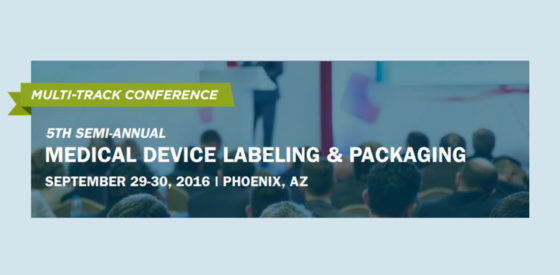5th SemiAnnual Med Device Labeling Conf Banner