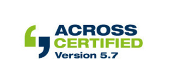 Across certified Logo