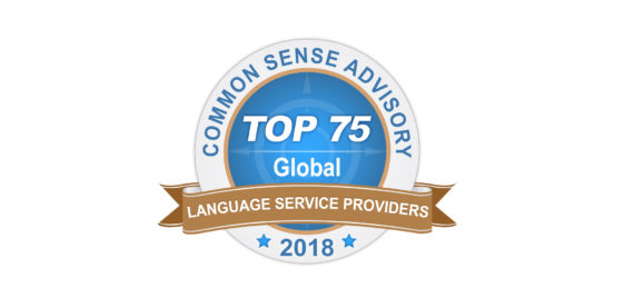 Badge Top 75 Global LSPs