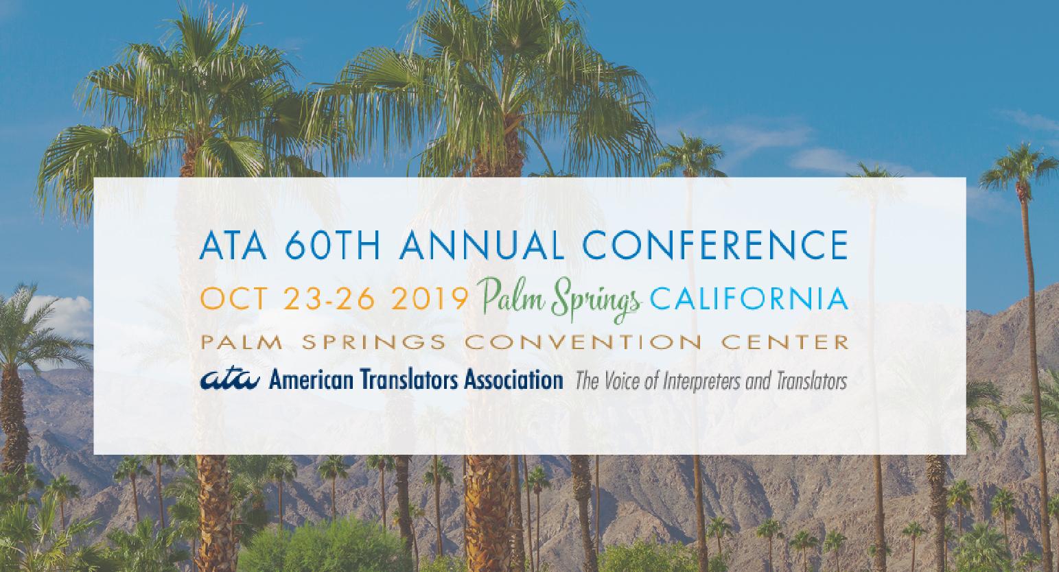 NLG at ATA60 conference