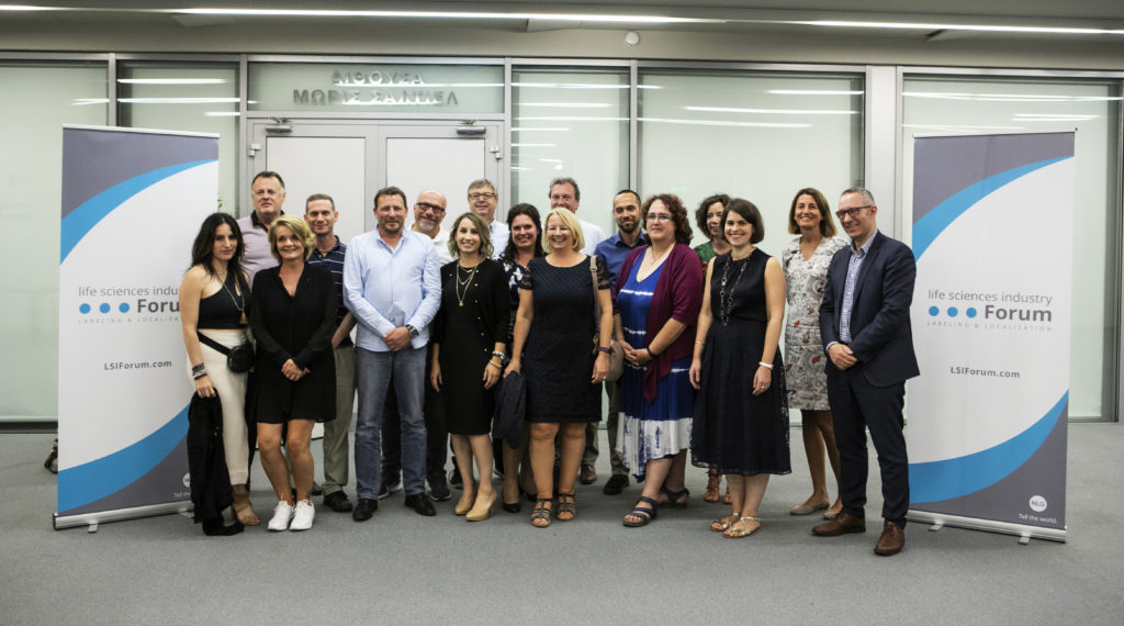 Life Sciences Industry Forum Participants - Team photo