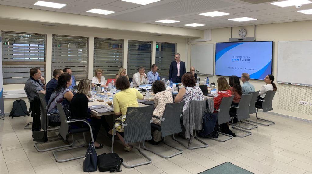 Life Sciences Industry Forum Participants - Workshop 2019, Day 1