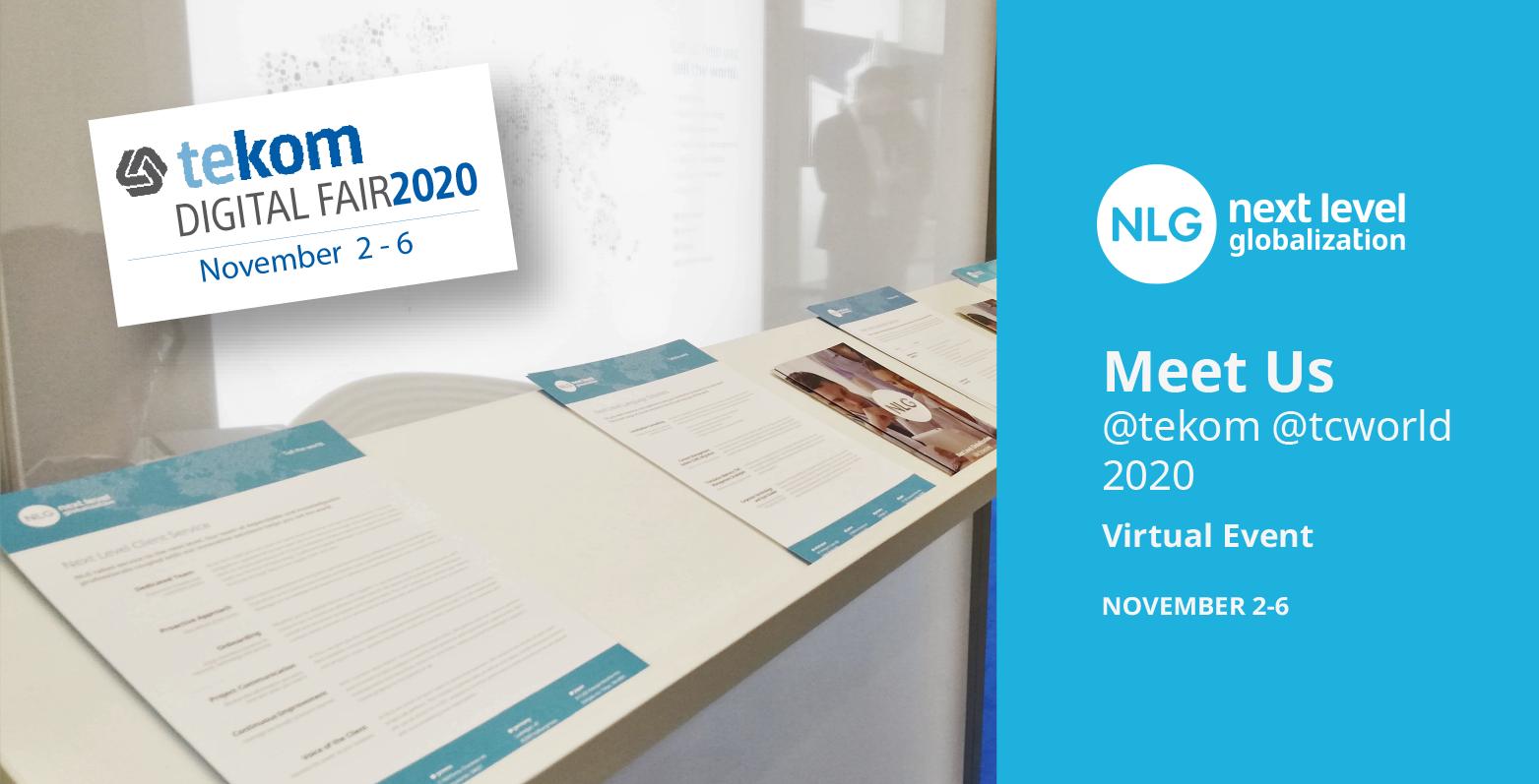 NlG tekom 2020